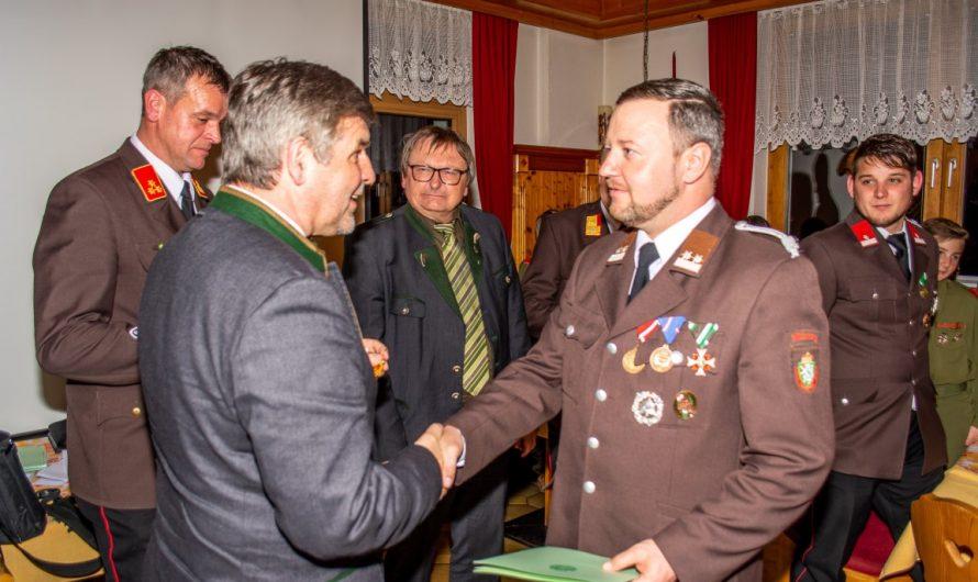 89. Wehrversammlung der FF Mitterberg